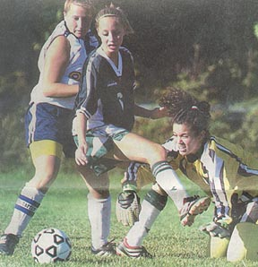Kiersten with Clearview HS - 2001