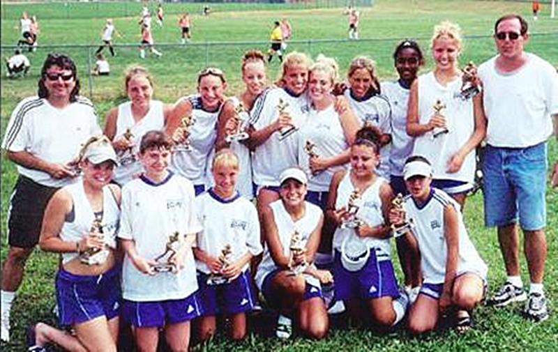 TBAA U15 Champions - August 2000